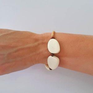 Natural Bliss Elasticated Bracelet